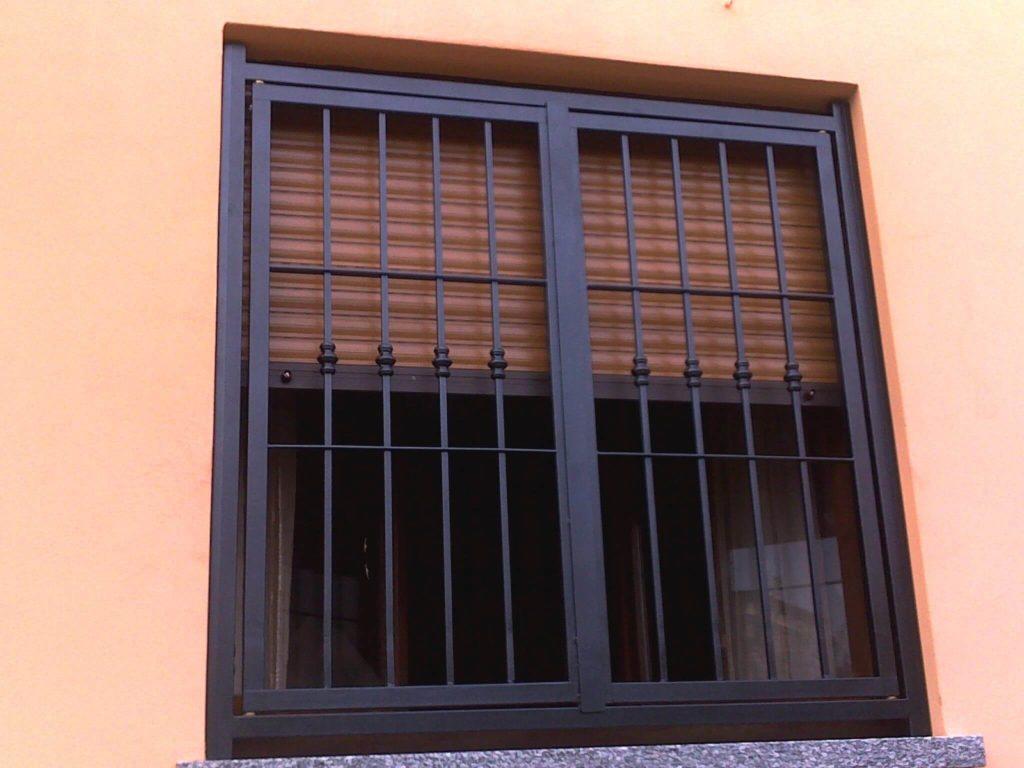 Biztonsági ablakrács