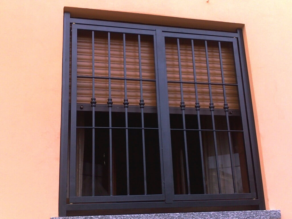 Biztonsági ablakrács - lakatos Herceghalom