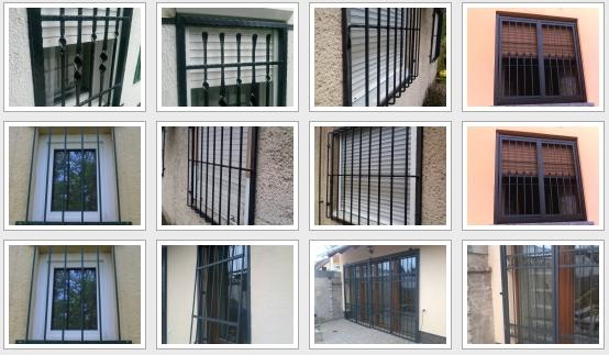 Biztonsági rács képek Budajenő