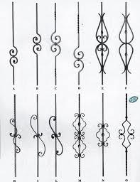 Kovácsoltvas elem minták - lakatos Dunaharaszti